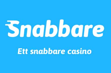 Snabbare Casino Logo blue